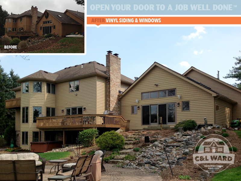 clward-before-after-certainteed vinyl lap siding andersen windows replacement